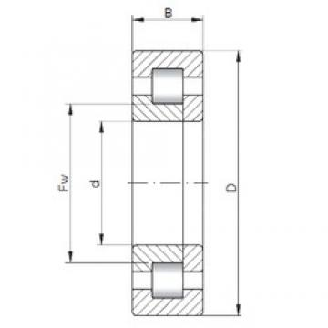65 mm x 120 mm x 31 mm  ISO NUP2213 cylindrical roller bearings