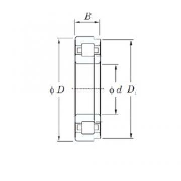 40 mm x 90 mm x 33 mm  KOYO NUP2308 cylindrical roller bearings